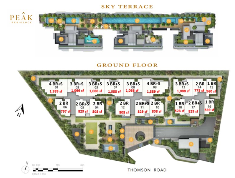 Peak-Residence-Site-Plan-Singapore